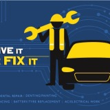 Car repair service by Automovill
